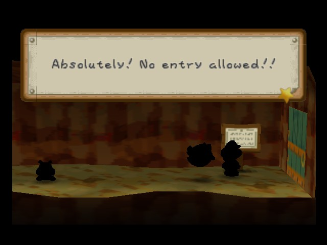 Paper Mario - Location  - Im going to enter it anyway - User Screenshot